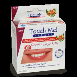 Зубной порошок Touch Me Clove с гвоздикой - здоровые десна