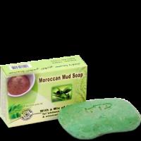 """Мыло с марокканской белой глиной и маслом оливы """"Moroccan Mud Soap"""""""