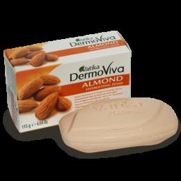 Натуральное увлажняющее мыло DermoViva с миндалем