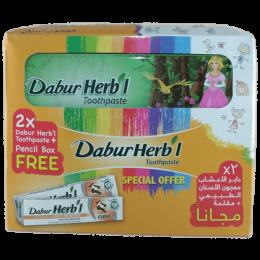Зубная паста Dabur Herb'l Clove (гвоздика) + пенал в подарок