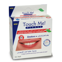 Зубной порошок Touch Me Smokers отбеливающий