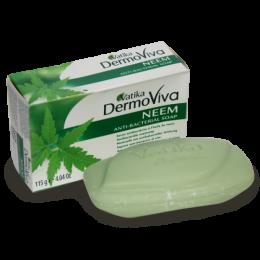 Антибактериальное мыло DermoViva с экстрактом дерева ним для проблемной кожи