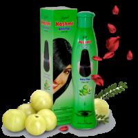 """Масло амлы для волос укрепляющее и питающее """"Hashmi Plus"""" с лепестками роз, хной и кунжутным маслом"""